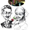 Bride Caricature
