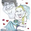 Bride Groom Caricature