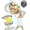 Tennis Caricature