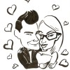 Valentine's Day Caricature