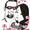 Valentines Day Caricature