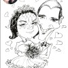 Weddings Caricature