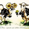 Aries Horoscope Caricature