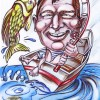 fisherman caricatures