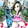 love love caricature